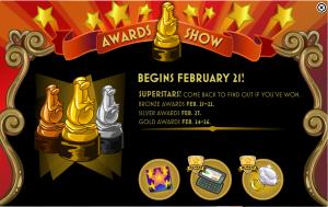 awards show rewards HW